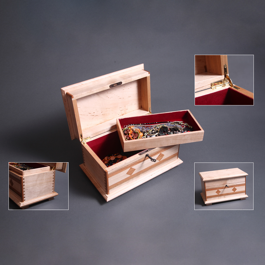 handmade-pieced-crafted-wood-jewelry-box-luxury-gift-maple-mahogany-walnut