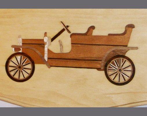old-fashioned-car-wood-inlay-shelf-gift-maple-cherry-walnut-rosewood-mahogany