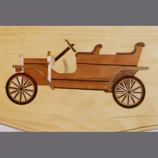 old-fashioned-car-wood-inlay-shelf-gift-maple-cherry-walnut-rosewood-mahogany