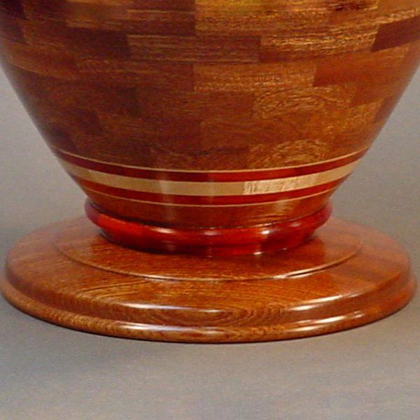 segmented-wood-turned-mahogany-bloodwood-maple-urn-25c