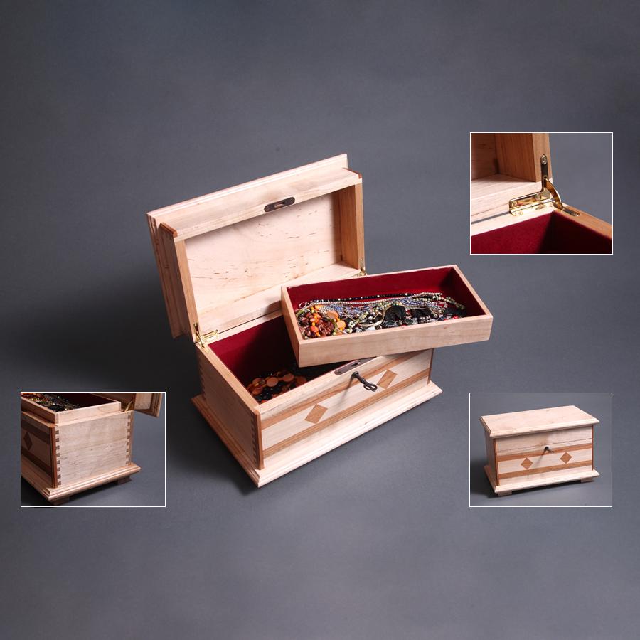 handmade-pieced-crafted-wood-jewelry-box-luxury-gift-maple-mahogany-walnut