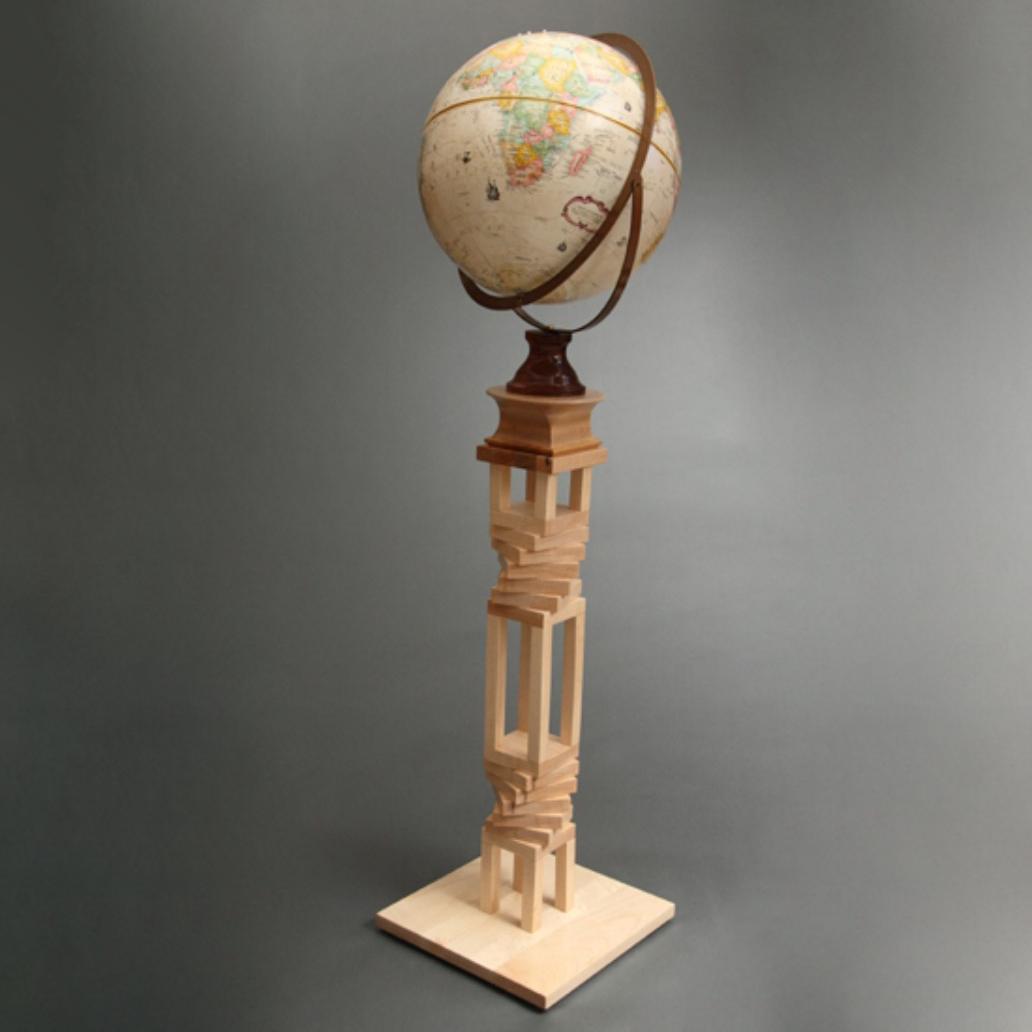 handmade-wood-globe-stand-maple-bubinga