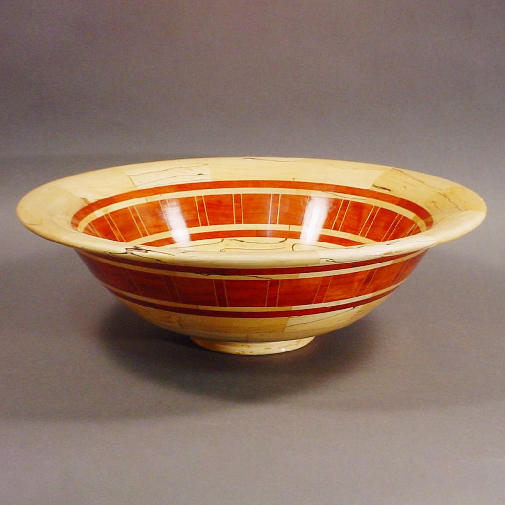 Segmented Wood Bowl #29