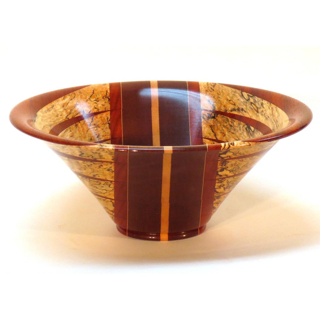 Segmented Wood Bowl #78
